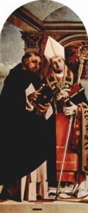 Saint Thomas d'Aquin et Urbain IV - Par Lorenzo Lotto