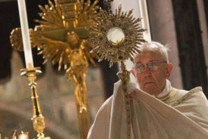 François et le Saint Sacrement
